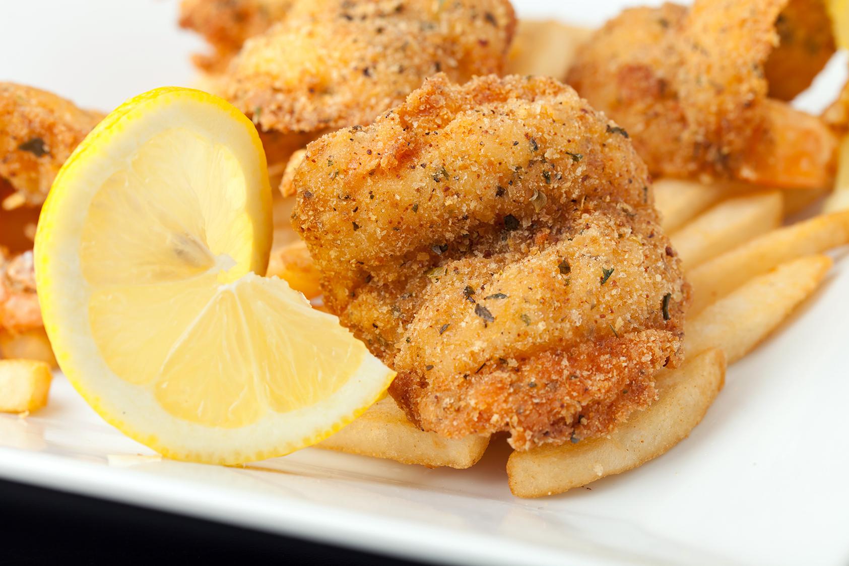 Louisiana Cattish & Zesty Shrimp Combo