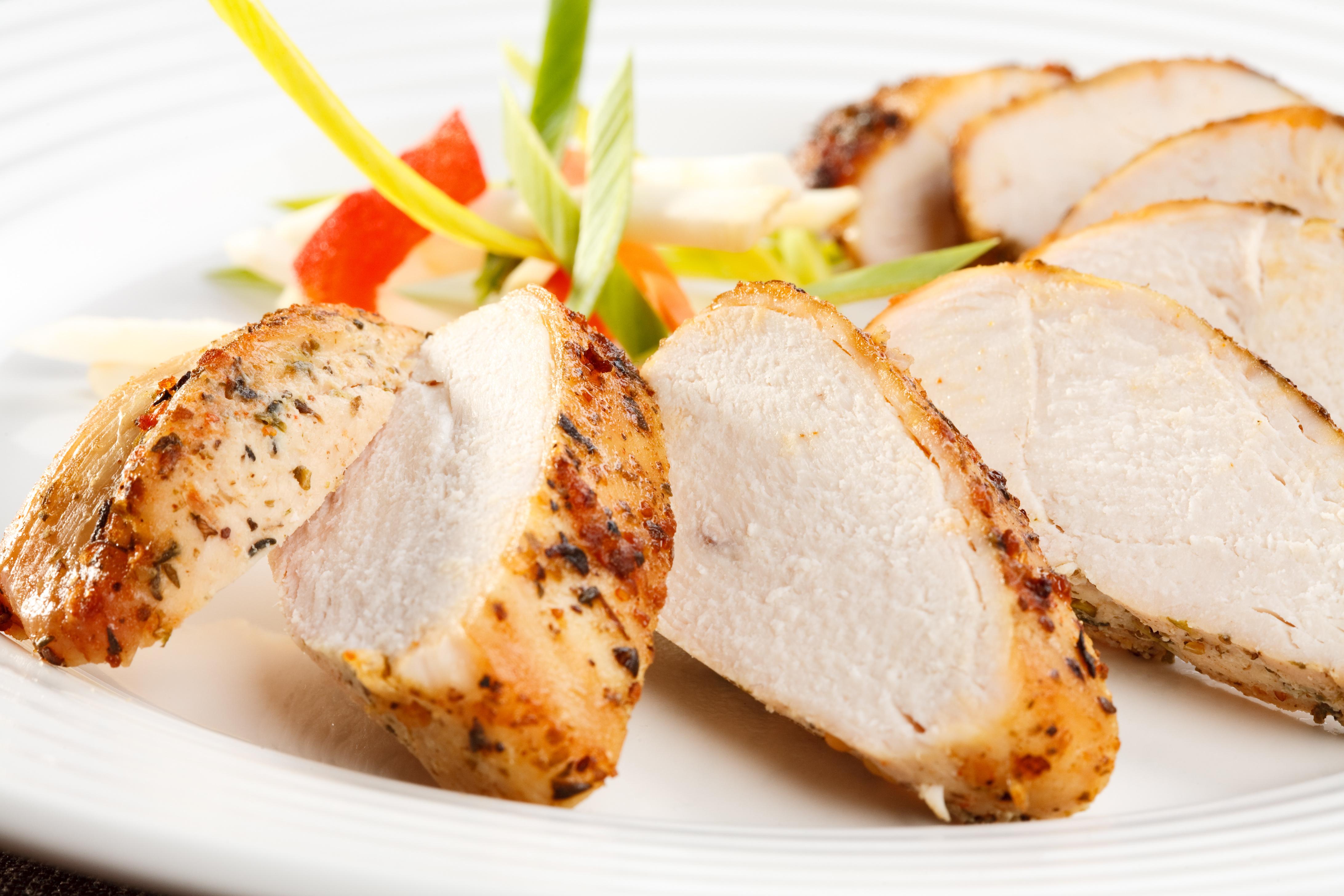 Kick-N Grilled Chicken Po-Boy