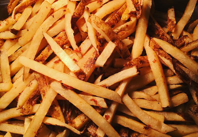 Skinny Seasoned Fries