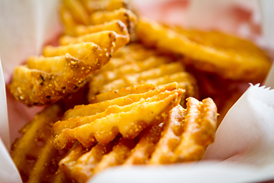 Zesty Seasoned Waffle Fries